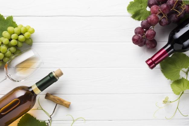 lækker mad og vin